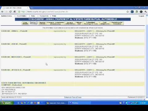 Free Missouri Court Records Online | Enter a Name to View ...