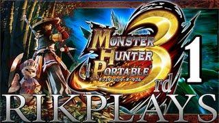Прохождение игры monster hunter 3