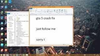 GTA 5 Crash Fix PC