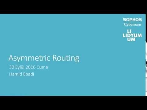 Asymmetric Routing