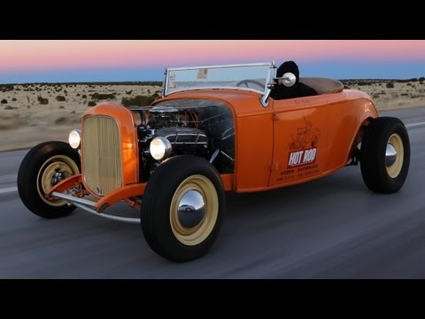 Nashville to LA! Winter Road Trip in a Topless Deuce Roadster - HOT ROD Unlimited Episode 26