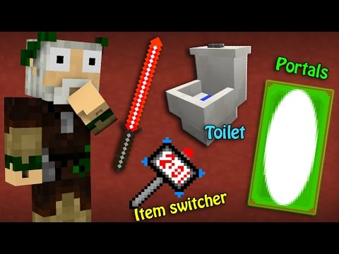 If You Could Craft ANYTHING You Wanted - Minecraft Machinima