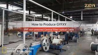 GYFXY 12 fibers cable