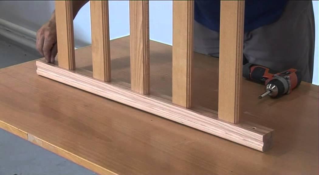 Fixer une main courante en bois youtube for Fabriquer une antenne tv interieur