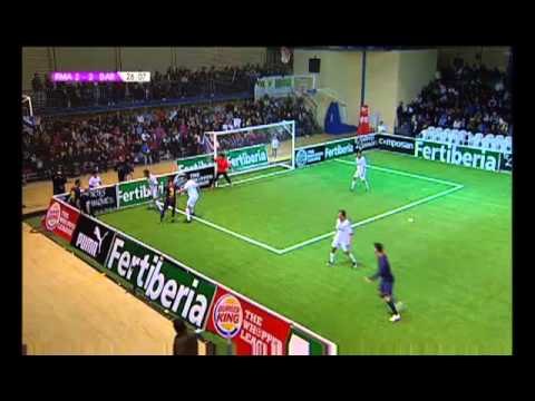 Liga de Ftbol Indoor: Real Madrid-Barcelona