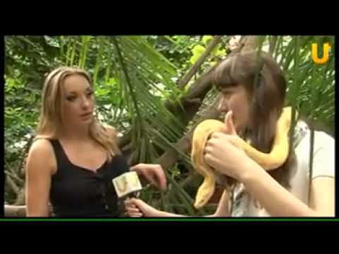 Мой любимый питон по имени Тоша на телеканале UTV