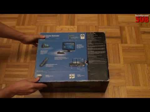 Linksys Windows Media Center Extender Unboxing: DMA2200