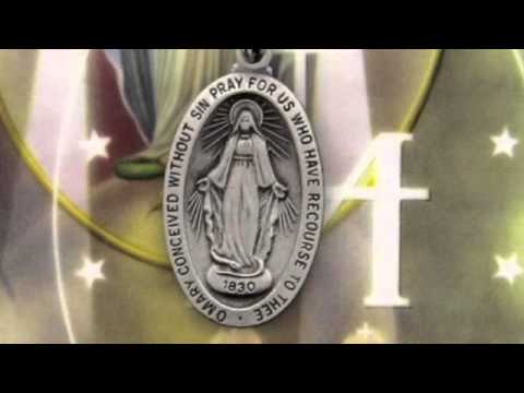 Our Lady of the Miraculous Medal with Laminated Prayer Card
