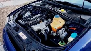 Oil change: 98 Audi a4 quattro