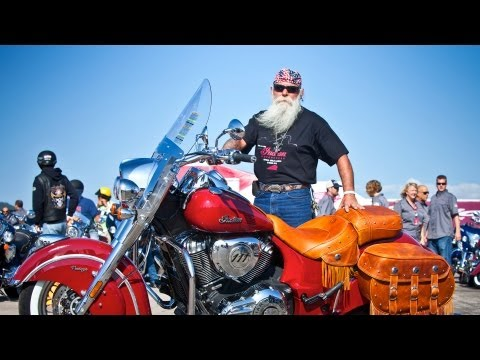 First 2014 Indian Chief Demo Rider Reaction