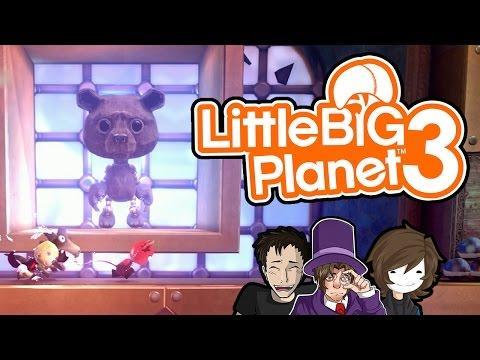 Springende Bären - #08 - Little Big Planet 3 - auf gamiano.de