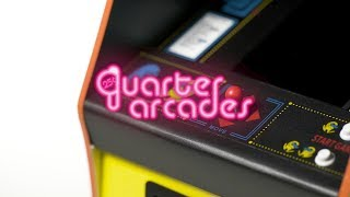 Quarter Arcades | PAC-MAN back in stock + new arcade cabinets!