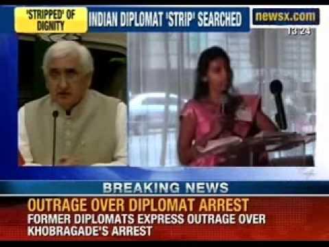 NewsX: Indian diplomat Devyani Khobragade was strip searched