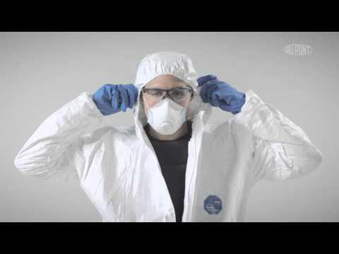 An-und Ablegen von Schutzkleidung