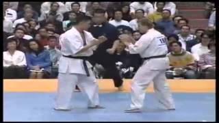 Кёкусин Каратэ   Kyokushin Karate KO low kick