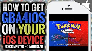 How To Get GBA4iOS 2.1 on your iOS Device! 10.0.2 & Below (NO JAILBREAK) iPhone iPad iPod Touch