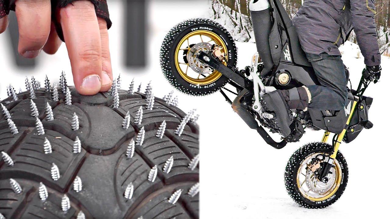 Шипы для мотоциклов своими руками 18
