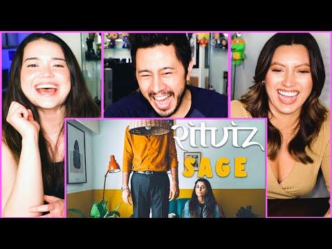 Ritviz - Sage [Official Music Video]   Kushal Shah & Aisha Ahmed   Reaction Jaby, Achara & Natasha