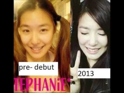 SNSD Tiffany before and after comparisonYuri Snsd Before And After