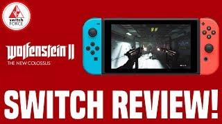 Wolfenstein 2 Switch Review: BEST PORT ON SWITCH?