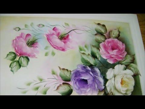 Clique e veja o vídeo Curso de Pintura em Porcelana