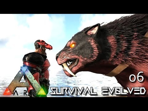 ARK: SURVIVAL EVOLVED - ALPHA SABER & POISON DRAKE TAMING !!! E06 (MOD ANNUNAKI PROMETHEUS RAGNAROK)