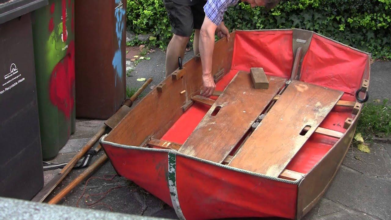 Раскладная лодка своими руками 20