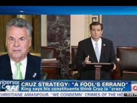 People Think Ted Cruz Is 'Crazy' - Rep. Peter King