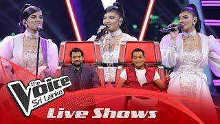 Tharushi Malisha | Chandrame Ra Paya Awa  Live Shows | The Voice Sri Lanka
