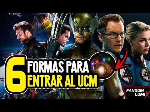 6 Formas para poner a los X-Men en el UCM