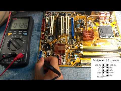 Видео как проверить USB-порты на работоспособность