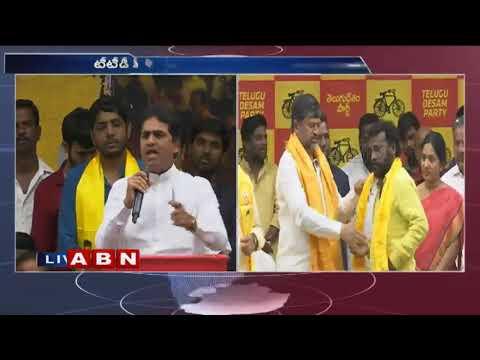 టీడీపీలోకి నందీశ్వర్ గౌడ్ | Nandeshwar Goud  joins TTDP | ABN Telugu