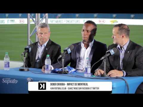 Didier Drogba à Montreal : MLS,  Chelsea, Caserne Letourneux, Partisans, Saputo