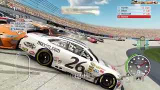 Nascar 15 The Game Crash Compilation 9