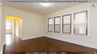 Priced at $249,000 - 8114 S Vernon Avenue, CHICAGO, IL 60619