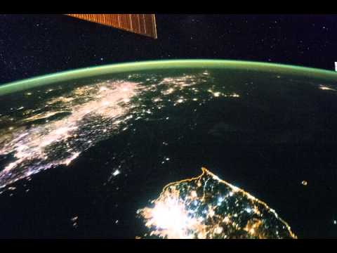 International space station geography View From Bangkok to north pacific