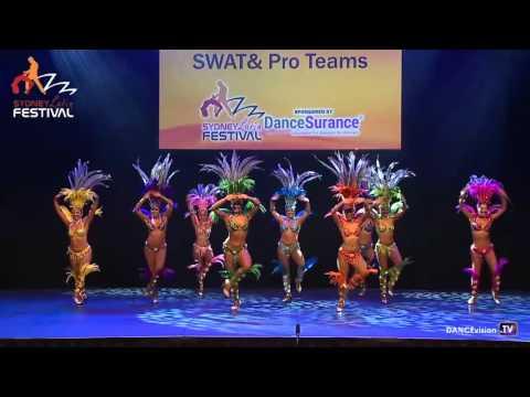 LDA Samba SWAT & Pro Team - Sydney Latin Festival 2016