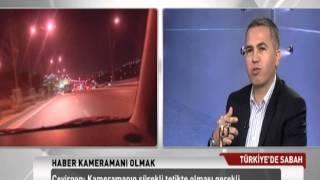 TRT TÜRK Türkiye'de Sabah, Kameraman ve THKD Başkanı Celal Çevirgen 1