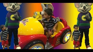 Chuck E Cheese Family Fun | Indoor Games for Kids | Children Play Area | Kids Video