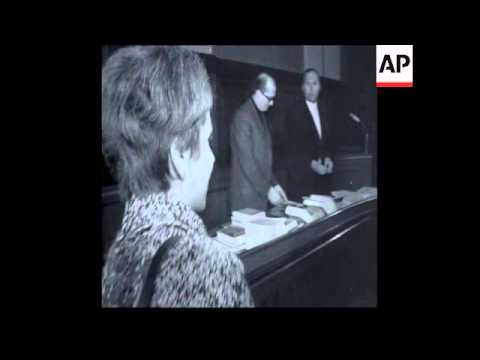 SYND 16-04-69 WOMAN APPEALS AGAINST CONVICTION FOR SLAPPING WEST GERMAN CHANCELLOR