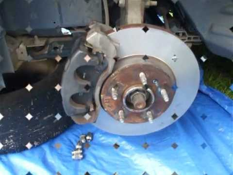 Maintenance Replacing Front Brakes And Rotors Chevy Hhr
