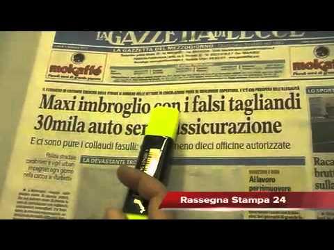 Leccenews24 notizie dal Salento in tempo reale: Rassegna Stampa 06-02