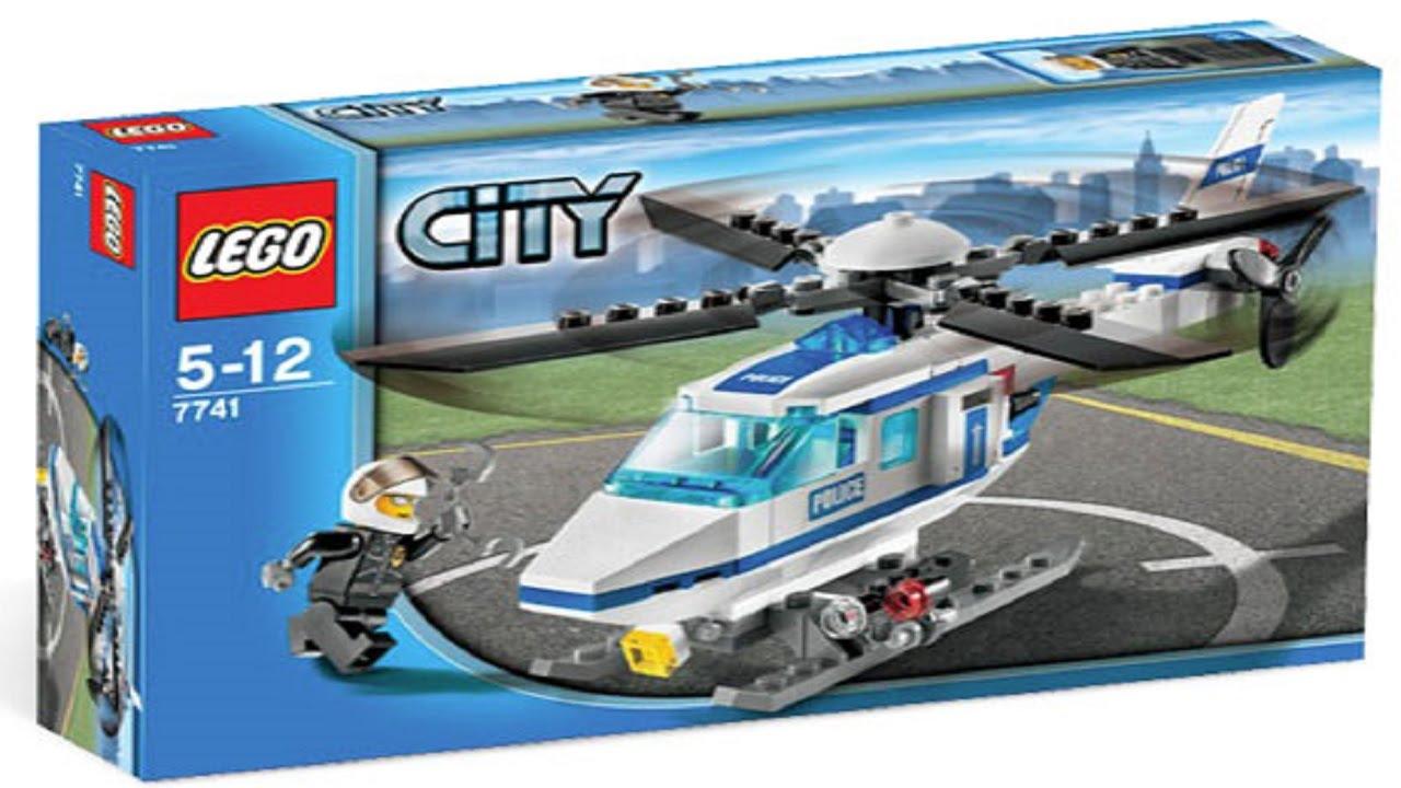 LEGO City 7741 Police Helicopter  Amazoncouk
