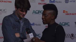 U&I TALK SHOW Feat. DANIEL DOHENY at The LEO AWARDS Red Carpet 2018 -