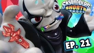 Skylanders Shorts: Ep. 21 - Kaos the Trap Eater w/ Special Guest YouTuber (Trap Team Skit)
