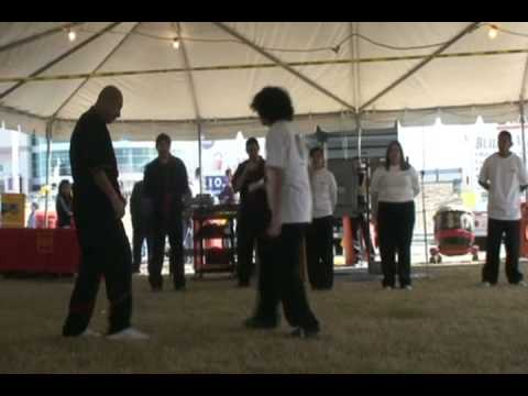 DF Wing Tsun demo, Asian Festival 2009 Image 1