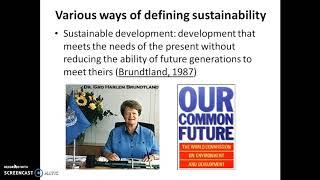 7 ways of defining sustainability