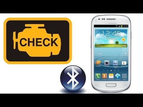 ELM 327 Bluetooth + Samsung Galaxy S III - Android 4.1.1 / Torque / ODB-II Check Engine - instalacja
