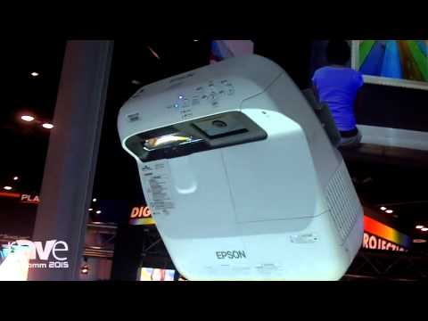 InfoComm 2015: EPSON Demos Brightlink Pro Interactive Projector