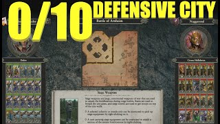 0 out of 10 Defensive City